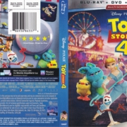 Toy Story 4 (2019) R1 Blu-Ray Cover