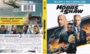 Fast and Furious Hobbs and Shaw (2019) R1 Blu-Ray Cover