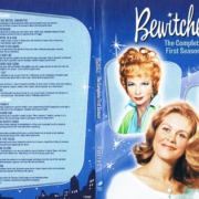 Bewitched Season Disc 1 and 2 SLIM DVD Cover & Labels