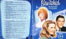 Bewitched Season 1 Disc 3 and 4 Slim DVD Cover & Labels