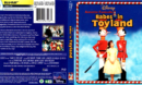 BABES IN TOYLAND (2012) R1 BLU-RAY COVER & LABEL