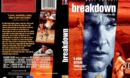 Breakdown (1997) R2 German DVD Cover & Label