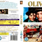 OLIVER (1968) R2 BLU-RAY COVER & LABEL