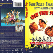 ON THE TOWN (1949) R1 DVD COVER & LABEL