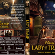 Lady And The Tramp (2019) R1 Custom DVD Cover & Label