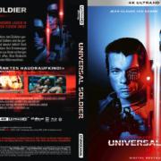 Universal Soldier (Custom Steelbook) (1992) R2 German 4K UHD Covers & Labels