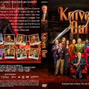 Knives Out (2019) R1 Custom DVD Cover & Label