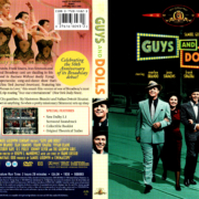 GUYS AND DOLLS (1938) R1 DVD COVER & LABEL