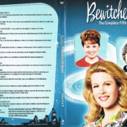 Bewitched Season 5 discs 3 and 4 R1 DVD Cover & Labels