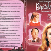 Bewitched Season 6 discs 1 and 2 R1 DVD Cover & Labels