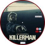 Killerman (2019) R2 Custom DVD Label