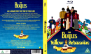 The Beatles: Yellow Submarine (1968) R2 Blu-Ray Cover & labels