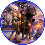 How To Train Your Dragon: Homecoming (2019) R2 Custom DVD Label