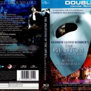 PHANTOM OF THE OPERA AT THE ROYAL ALBERT HALL (2011) BLU-RAY COVER & LABELS
