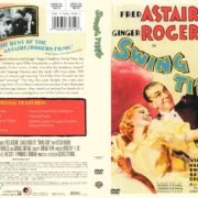 SWING TIME (1936) R1 DVD COVER & LABEL