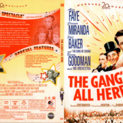 THE GANG'S ALL HERE (1943) R1 DVD COVER & LABEL