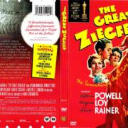THE GREAT ZIEGFELD (1936) R1 DVD COVER & LABEL