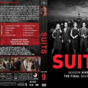 Suits - Season 9 (2019) R1 Custom DVD Cover & Labels