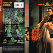 WEST SIDE STORY (1961) R1 DVD COVER & LABEL