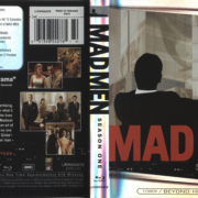 Mad Men: Season One (2007) R1 Blu-Ray Cover & Labels