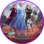 Frozen 2 (2019) R2 Custom DVD Label
