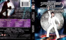 SATURDAY NIGHT FEVER (1977) R1 BLU-RAY COVER & LABEL