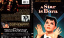 A STAR IS BORN (1954) R1 DVD COVER & LABEL