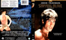 STAYING ALIVE (1983) R1 DVD COVER & LABEL