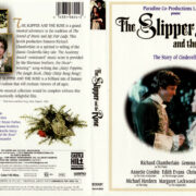 THE SLIPPER AND THE ROSE (1975) R1 DVD COVER & LABEL