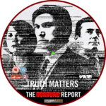 The Report (2019) R2 Custom DVD Label