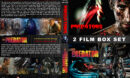 Predators / The Predator Double Feature R1 Custom DVD Cover