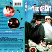 THE GREAT RACE (1965) R1 DVD COVER & LABEL