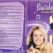 Bewitched Season 8 (1969) R1 SLIM DVD Covers & Labels