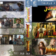 Jumanji Triple Feature R1 Custom Blu-Ray Cover