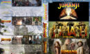 Jumanji Triple Feature R1 Custom DVD Cover