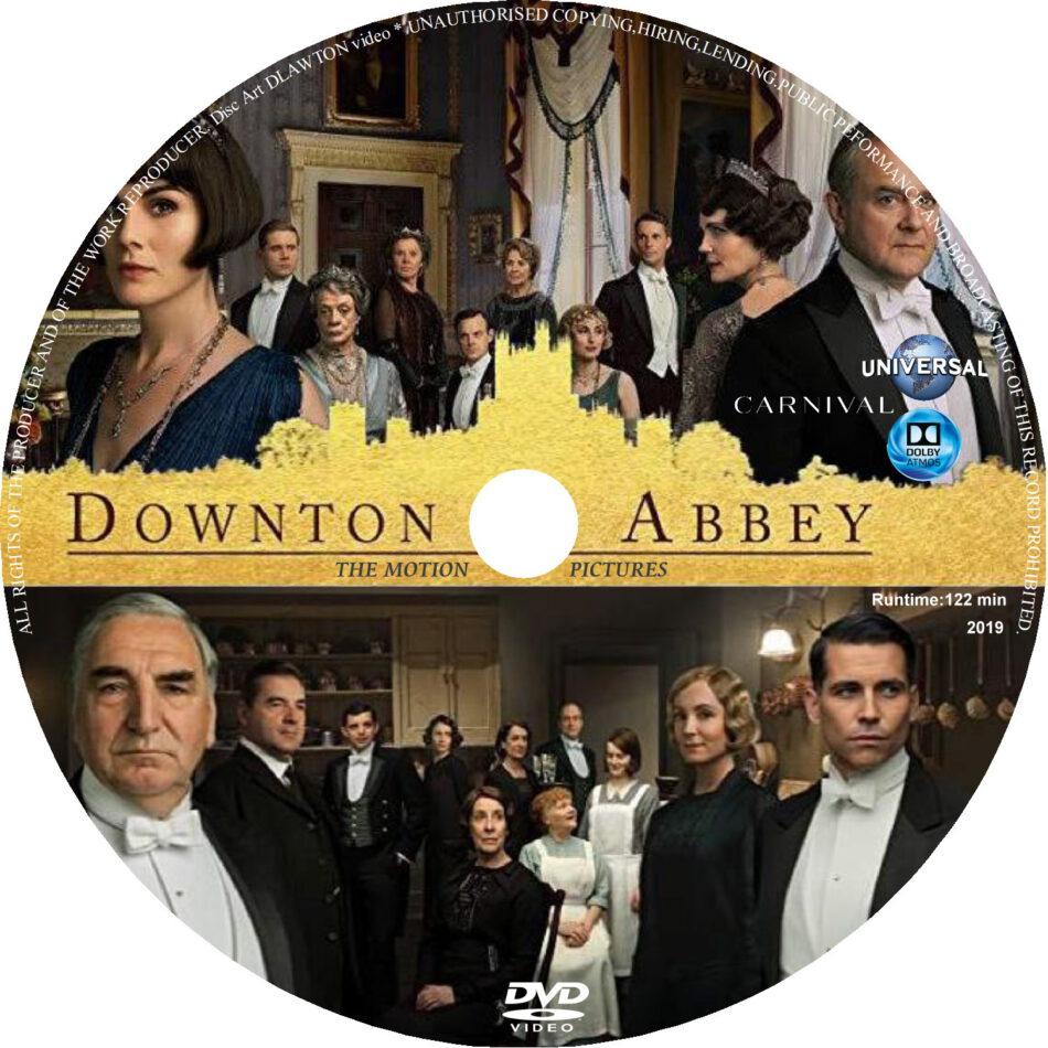 Downton Abbey 2019 R0 Custom Dvd Label Dvdcover Com