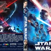Star Wars: The Rise Of Skywalker (2019) R1 Custom DVD Cover & label