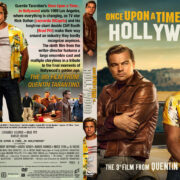 Once Upon A Time In Hollywood (2019) R1 Custom DVD Cover V3