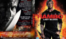 Rambo: Last Blood (2019) R1 Custom DVD Cover