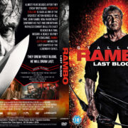 Rambo: Last Blood (2019) R1 Custom DVD Cover