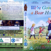 We're Going On A Bear Hunt (2017) R2 DVD Cover & label