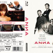 Anna (2018) R2 German Custom Blu-Ray covers & labels