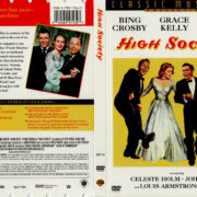 HIGH SOCIETY (1956) DVD COVER & LABEL