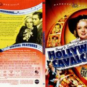 HOLLYWOOD CAVALCADE (1937) SLIM DVD COVER & LABEL