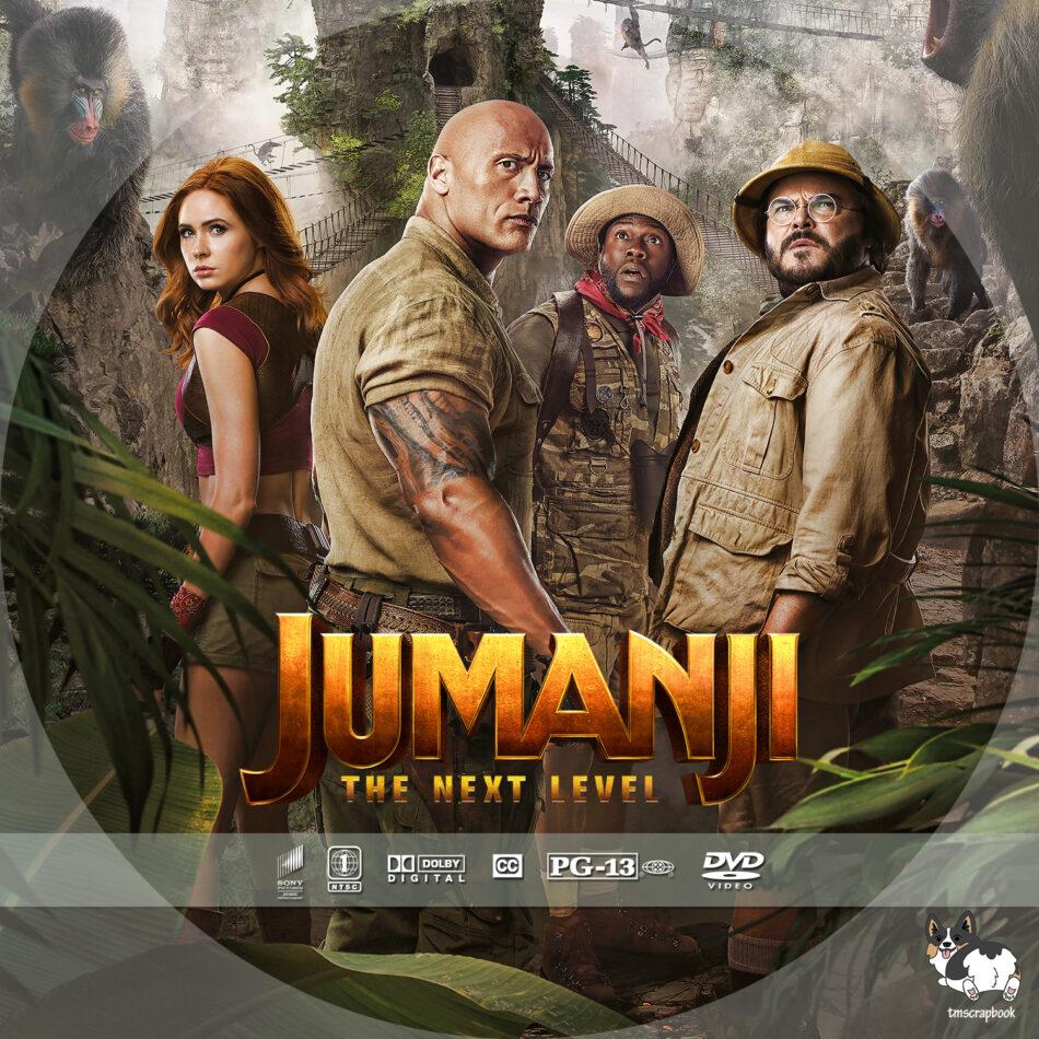 Jumanji -The Next Level 2019 480p HDCAM Hollywood x264 400MB