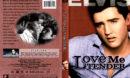LOVE ME TENDER (1956) R1 DVD COVER & LABEL