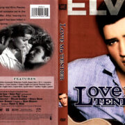 LOVE ME TENDER (1956) R1 DVD COVER & LABEL