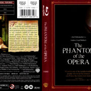 THE PHANTOM OF THE OPERA (2004) R1 BLU-RAY COVER & LABEL