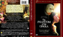 THE PHANTOM OF THE OPERA (2004) R1 DVD COVER & LABELS