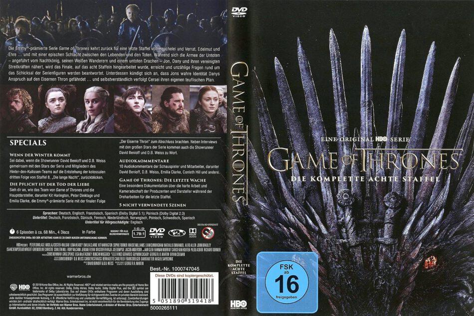 Game Of Thrones 8 Staffel Deutsch